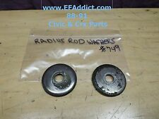 88-91 HONDA CIVIC SEDAN HATCH CRX DX Si OEM RADIUS ROD WASHERS BUSHING WASHERS