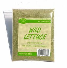 10 Grams Wild Lettuce Lactuca virosa powder FROM THE SOURCE