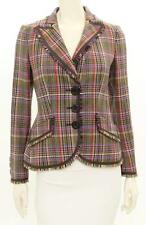 Moschino Cheap & Chic Multicolor Houndstooth Jacket Size US 8