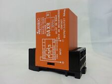 SYRELEC DAXR TIMER 32VDC MULTIRANGE DIN RAIL MOUNT FREESHIPSAMEDAY