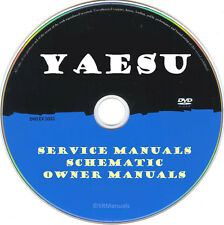 Yaesu Service Owner Manuals & Schematics- PDFs on DVD - Huge Collection Latest