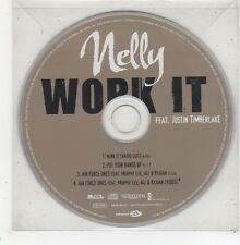 (GD919) Nelly, Work It ft Justin Timberlake - 2003 CD