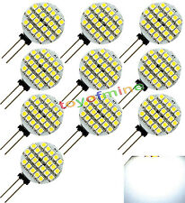 10x G4 24 SMD LED Spot Light Bulb Lamp Cool White 1.5W Camping 90lm 120 ° DC 12V