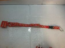 "Betty Boop, Red, ""Boop-Oop-A-Doop"" Nylon Lanyard, 22"" folded length, 36"" total"