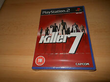 KILLER 7 SONY PLAYSTATION 2 PAL *BRAND NEW* SEALED