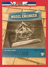 The Model Engineer Vol. 112 Paper Magazine No. 2811 April 7th 1955 - Used #EK07