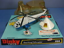 DINKY TOYS  MODEL No.724  SEA KING HELICOPTER WITH 'APOLLO' SPACE CAPSULE VN MIB