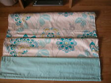 NEXT TEAL MIAMI CREAM DUCK EGG ROMAN BLIND 180 X 120CM + FITTINGS GOES curtains
