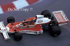 Emerson Fittipaldi McLaren M23 Monaco Grand Prix 1974 Photograph 6