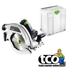 Festool HK 85 EB-Plus 240V Portable Circular Saw in Systainer - 574669
