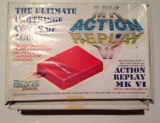 Datel Action Replay VI version 6 boxed with instructions. Great condition