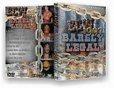 ECW Wrestling: Barely Legal DVD-r, Sabu Rob Van Dam RVD Terry Funk Sandman PPV
