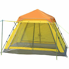 Gazelle Pop Up  Camping Hiking Instant Umbrella Tent Mesh Screen Double Layers