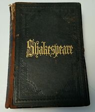 1891 Shakespeare's Complete Works The Avon Edition Hardcover Illustrated
