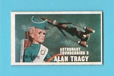 Thunderbirds Gerry Anderson Vintage 1960s Japan Menko Thick Card Alan Tracy