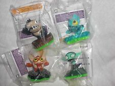 BRAND NEW Complete Set of 4 Skylanders Spyro's Adventure Sidekicks *SEALED