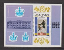 GRENADA MNH STAMP MINIATURE SHEET 1978 25TH ANNIVERSARY OF THE CORONATION MS949