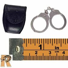 C.I.D. Wai - Hand Cuffs w/ Pouch - 1/6 Scale - Dragon Action Figures