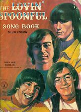 vintage THE LOVIN' SPOONFUL SONG BOOK sheet music book 1966 HITS. FREE US MAIL