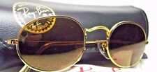 RAY-BAN NOS VINTAGE B&L *DIAMOND HARD SURVIVOR OVAL W1909 24k GP *NEW SUNGLASSES