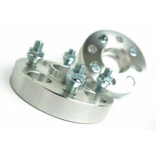 2 X Wheel Spacers Adapters 4X100 54.1 CB 12X1.5 Studs 30MM For Corolla Echo MR2