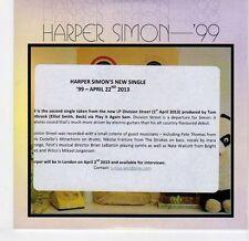(EL426) Harper Simon, '99 - 2013 DJ CD