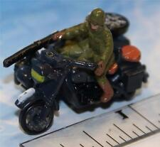MICRO MACHINES MILITARY MOTORCYCLE BMW R75 w/Side Car # 1