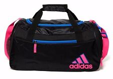 Adidas Squad II Duffel Gym Bag Black/Flash Red Ventilated New With Tag