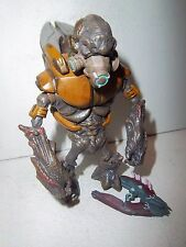 "Halo Reach **GOLD GRUNT** McFarlane 4"" Action Figure Complete w/ Needler"