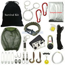Practical Outdoor Survival Kit First Aid Tools Camping Rescue Gear Emergency Kit