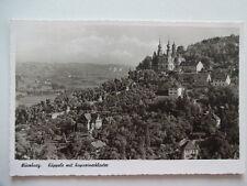 3636-Ansichtskarte alt – Würzburg – Käppele mit Kapuzinerkloster