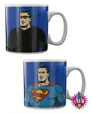 RETRO DC COMICS HEAT CHANGING CLARK KENT SUPERMAN  MUG CUP NEW & GIFT BOXED