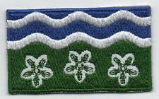 Cumberland Cumbria County Flag Embroidered Patch Badge - Sew or Iron on