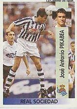 N°099 JOSE ANTONIO PIKABEA REAL SOCIEDAD CROMO STICKER PANINI LIGA 1997