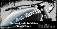 2 volte BLACK Bitch #7, ADESIVI SERBATOIO MOTO, moto, chopper, funsticker
