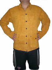 Welding leather Jacket Kevlar Thread Size  XL-XXL