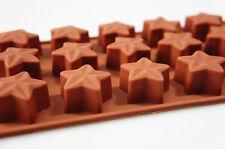 15 cellule étoile en 3D Boîte de Chocolat Silicone Bonbons cuisson Moule gâteau Moule cire fondre