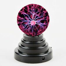 USB Plasma Ball Sphere Light Lamp Desktop Light Science Kid Office Party Holiday