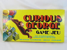 The Curious George Game 1977 Board Game Parker Brothers Complete Bilingual EUC