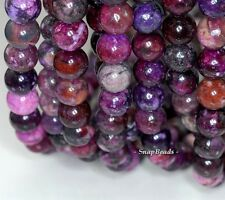 12MM  PURPLE SUGILITE GEMSTONE  ROUND 12MM LOOSE BEADS 7.5""
