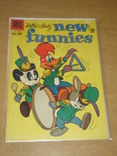 NEW FUNNIES #278 FN (6.0) WOODY WOODPECKER DELL COMICS JULY 1960 COVER B