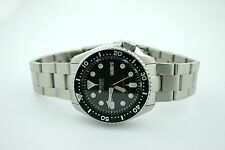 SUPER OYSTER BRACELET FOR SEIKO SKX007/009/011- SEIKO MONSTER CLASP *SOLID ENDS*