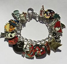The Nightmare Before Christmas Bracelet Jack Sally and More Charms
