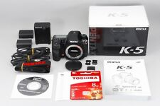MINT in BOX Pentax K K-5 16.3MP DSLR Camera Body with Full Options from Japan