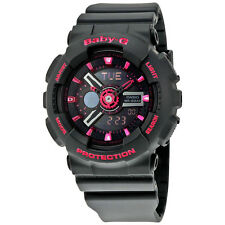 Casio Baby-G Black Resin Ladies Watch BA111-1ACR