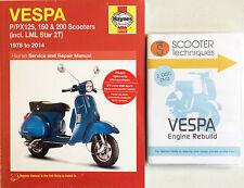 VESPA P/PX/T5 LML Star 125, 150 y 200 con el motor reconstruir DVD Vespa
