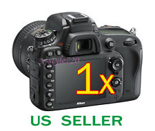 1x Clear LCD Screen Protector Guard Film For Nikon D600 Digital SLR Camera