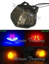 Tail Brake Turn Signals Light Smoke Lens For 2008-2012 KAWASAKI Ninja 250R EX250