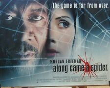 Morgan Freeman ALONG CAME A SPIDER(2001) Original UK rolled quad movie poster