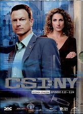 CSI: NEW YORK - STAGIONE 2 EPISODI 2.13 - 2.24 DVD NUOVO E SIGILLATO